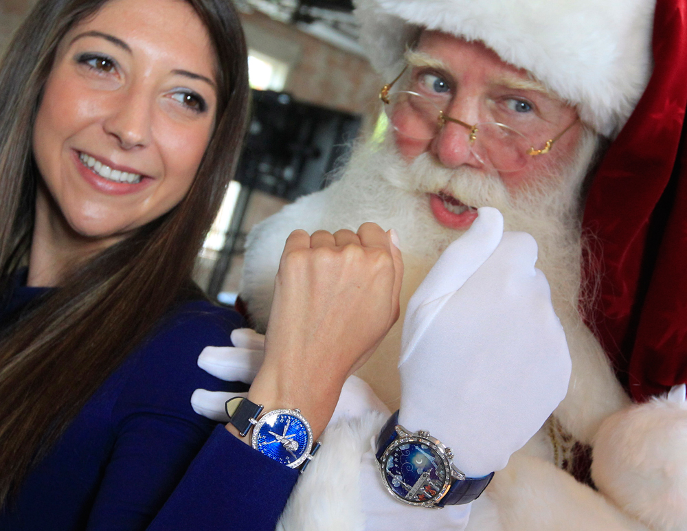 "Outrageous Gifts: ""poetic wish"" watches Neiman Marcus starting at $1,090,000"