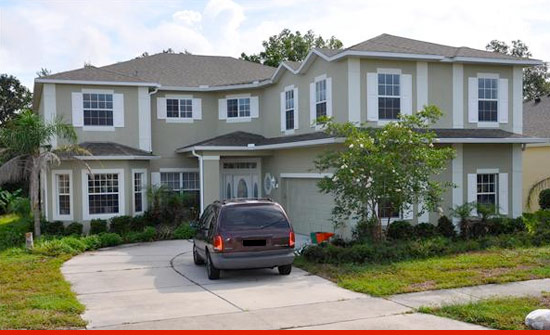 Shaq buys 235k house 30 minutes away from his 11 bedroom for Shaquille o neal s home