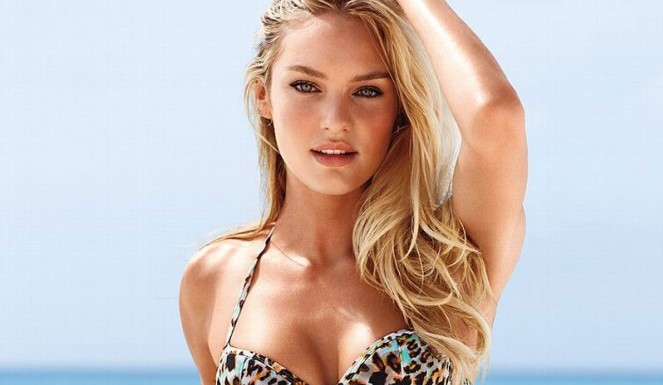 Victoria's Secret Swim Cover Model? Candice Swanepoel Gets Top Honors