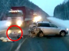 Baby Flung From Car Survives Horrifying Accident