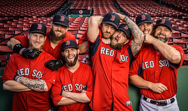 Red Sox Beards: Study Says Stubble is More Sexy - dBTechno