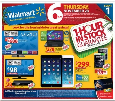 Walmart Black Friday Deals Continue All Weekend Long!: See Flyer ...