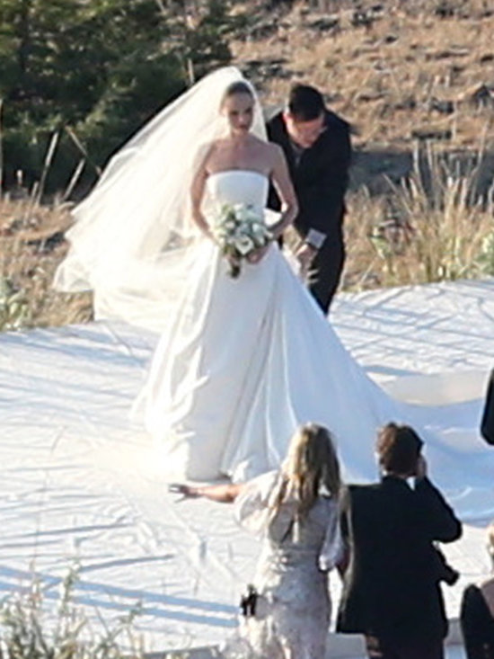 Celeb Wedding Dresses: kate bosworth wore an oscar de la ...