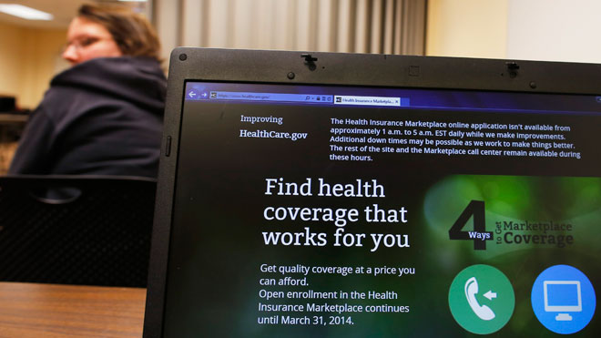 Obamacare Website Glitch