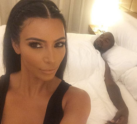 Image result for Kim Kardashian Sleeping By Kanye West Side Every Night During Recovery