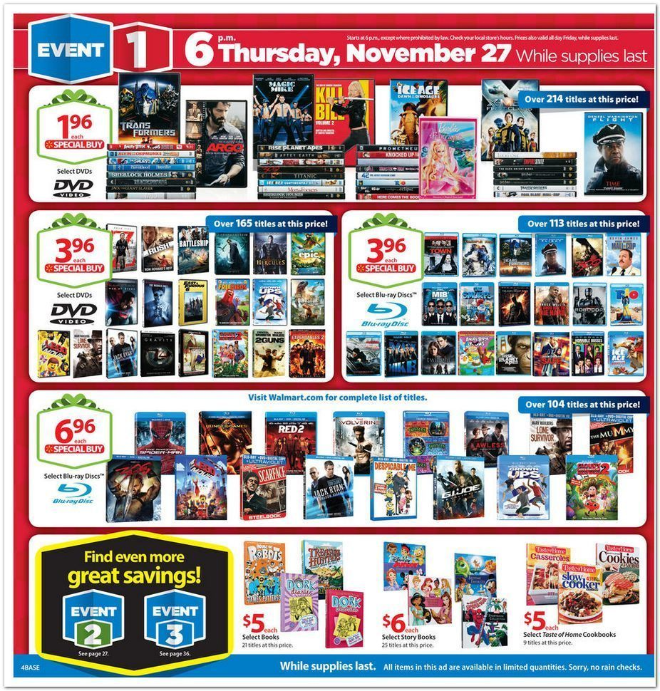 Black Friday Ads: Walmart Offers Sweet Black Friday Deals ...
