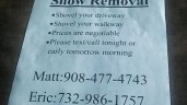 Bound Brook Teens Shoveling:  Police Ban Teens From Shoveling Work