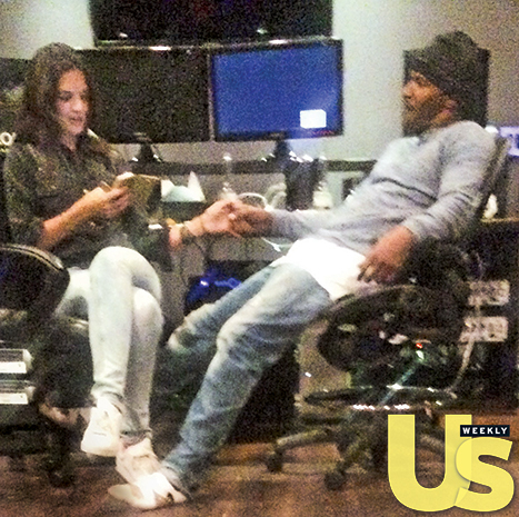 A year-and-a-half after they first hooked up, Katie Holmes and Jamie Foxx are still (secretly!) going strong Credit: Splash News