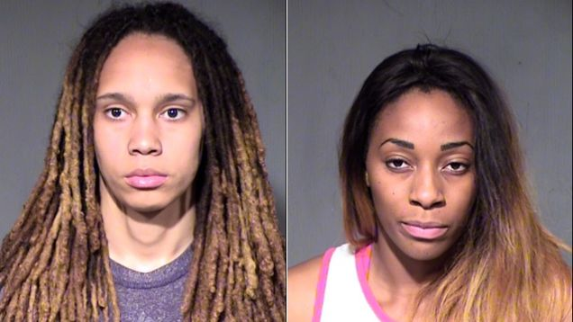 Brittney Griner Arrested For Assault And Disorderly Conduct