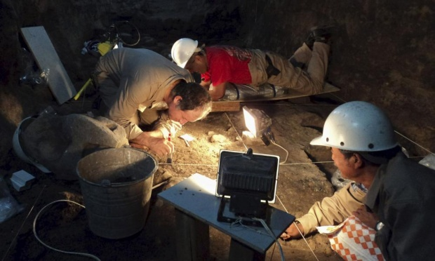 Pyramid has liquid mercury may lead to ancient king's tomb