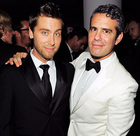 Andy Cohen reveals he had sex with Lance Bass! Credit: Jemal Countess/Getty Images