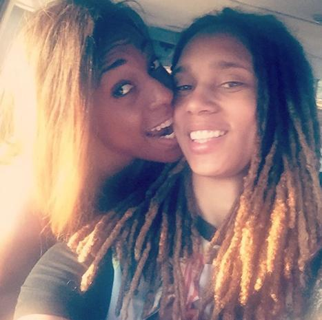 Brittney Griner marries Glory Johnson.