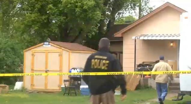 KULR Investigators examine the scene at the home in Billings, Mont. where they say a teen was accidentally shot by a friend he and another boy were trying to awake early Sunday morning.