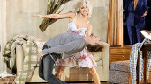 Hough Wardrobe Oops:  Julianne Hough  Suffers Wardrobe Malfunction