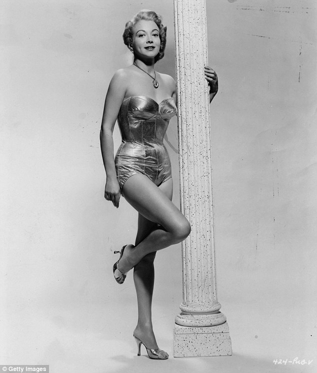 Although rarely the biggest name in a movie, Monica (above in 1957) worked with Charlton Heston, Walter Matthau, Mickey Rooney, and more