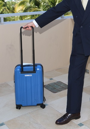 Working with airline members of IATA and aircraft manufacturers, an optimum size guideline for carry-on bags has been agreed that will make the best use of cabin storage space. A size of 55 x 35 x 20 cm (or 21.5 x 13.5 x 7.5 inches) means that theoretically everyone should have a chance to store their carry-on bags on board aircraft of 120 seats or larger.
