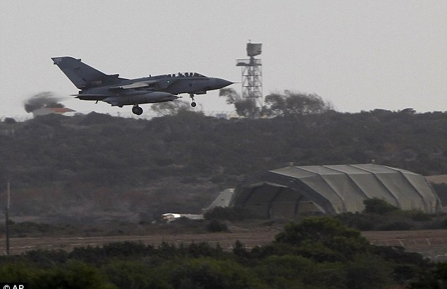Missiles fall off jet, British air force closes Cyprus runway