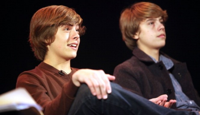dylan cole sprouse graduation: The Old Switcheroo