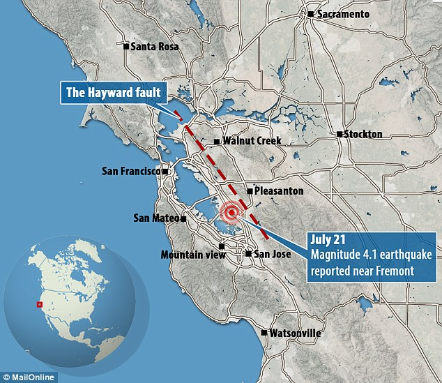 Hayward Fault Is The Big One About To Hit Photo Dbtechno