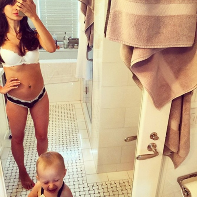 Hilaria Baldwin Post Baby Body Has The Webnet Talking
