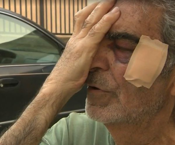 Nutella fight, 24-year-old Punches 78-Year-Old
