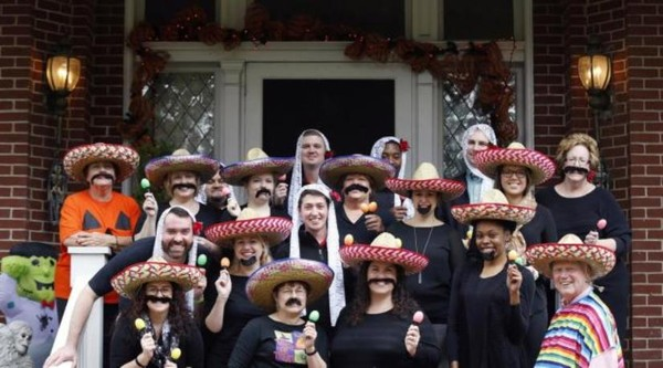 """James Ramsey: Louisville staff dress up as """"Mexicans"""""""