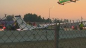 small airplane lands i 84:  No Injuries Reported