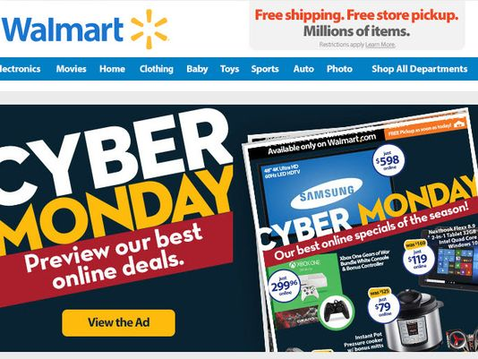 Cyber Monday 2015 Walmart is Now On Sunday