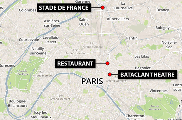 Paris shootings Update: Death toll now at 153