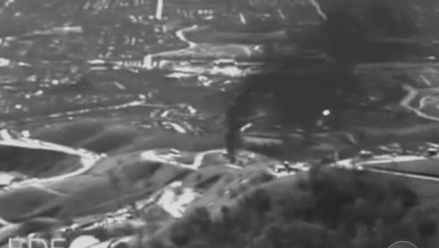 First Aerial Footage of Aliso Canyon Natural Gas Leak