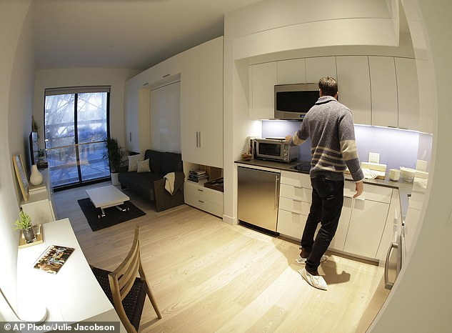 Nyc Micro Apartment 265 To 360 Square Feet Of Ious Living Dbtechno