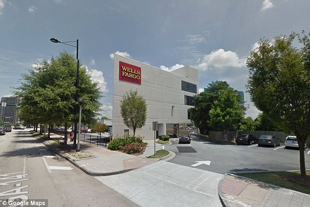 Blac Youngsta was at a Wells Fargo on Peachtree Road (pictured) when the encounter took place Cops: Rapper's detainment at bank a misunderstanding Loaded: 0%Progress: Duration Time 0:29 Fullscreen Need Text