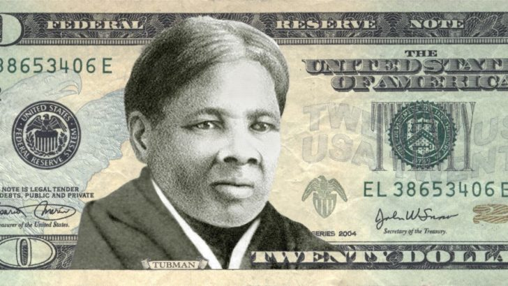 $20 bill not $10 Will Feature A Female