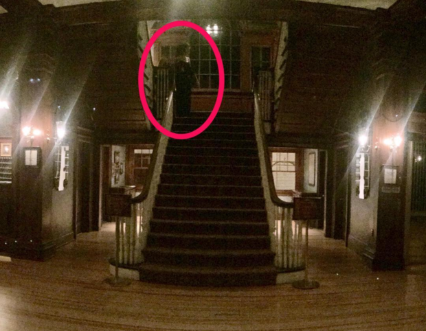 The Shining Hotel Tourist Captures Image Of Ghost Photo