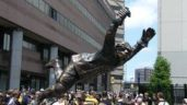 Bobby Orr statue Moved