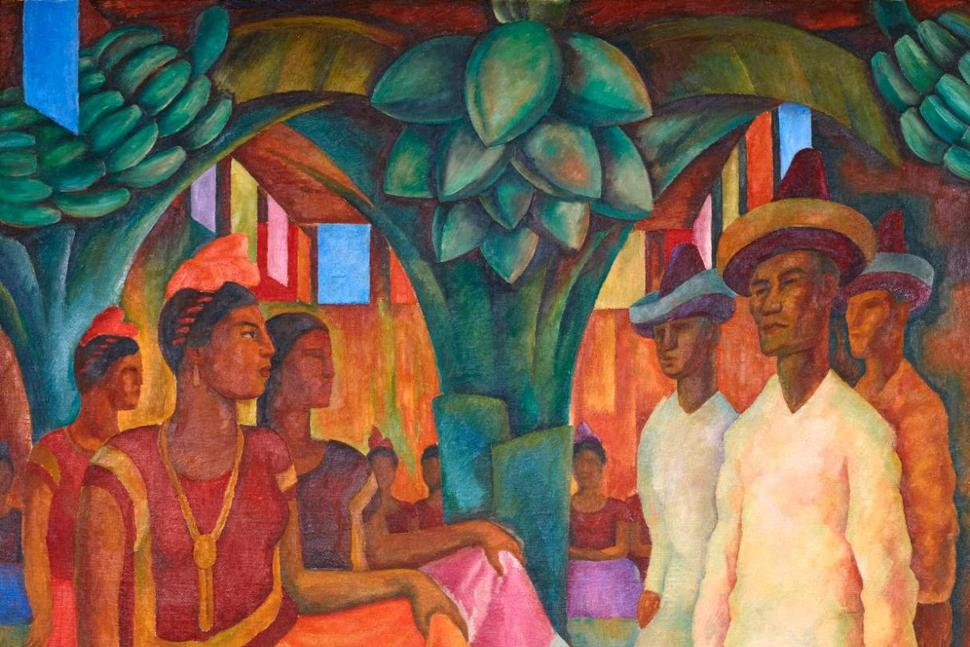 Diego rivera painting sells for 15 7m in private sale for Diego rivera s most famous mural