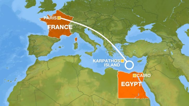 EgyptAir Flight Crash Found:  Missing Jet Wreckage Found (VIDEO)