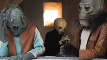 JJ Abrams And Hamilton Creator Sing cantina song from The Force Awakens