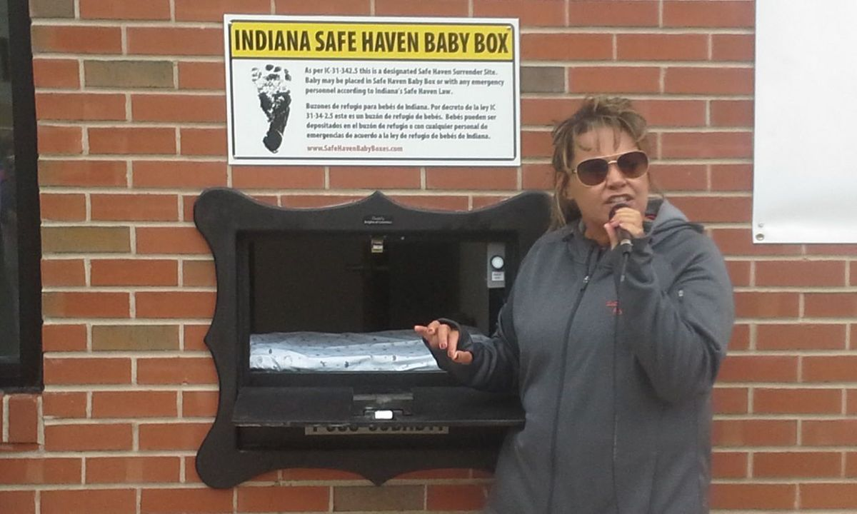 baby safe haven Monica kelsey and the town of woodburn, ind, dedicated the first safe haven baby box of its kind on tuesday, april 26chad ryan / the journal gazette via ap indiana has installed two baby.