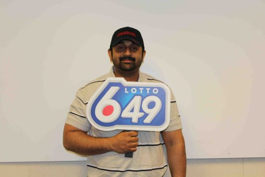 Calgary 9 million lotto Win