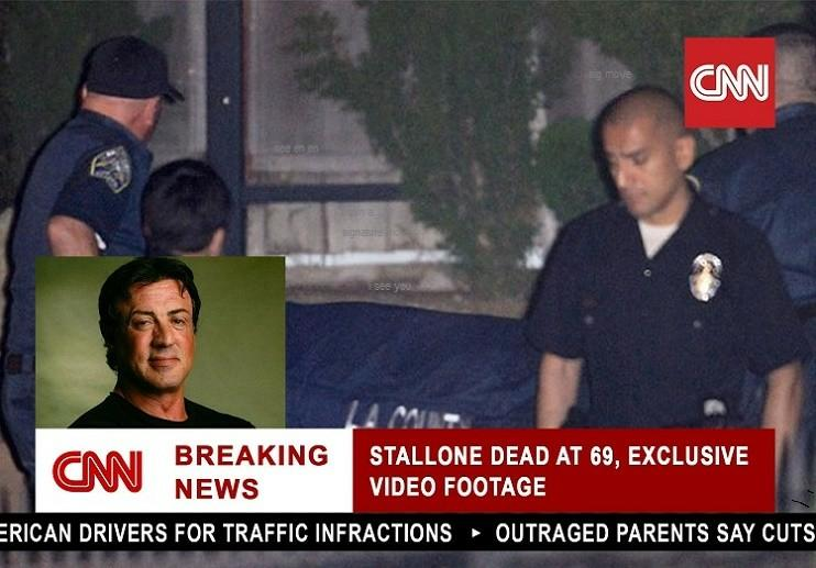 Image result for Sylvester Stallone Death hoax