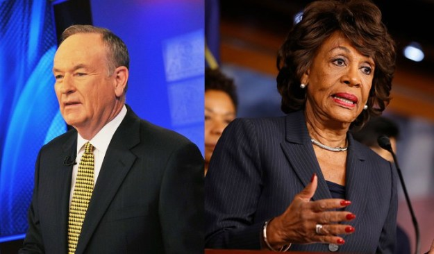 Bill O'Reilly Maxine Waters